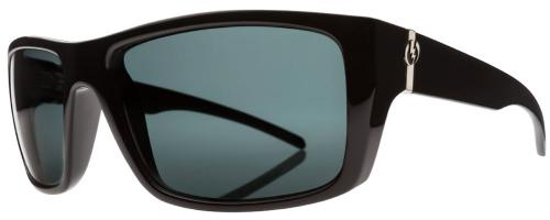 Electric Sixer Sunglasses - Gloss Black / Melanin Grey