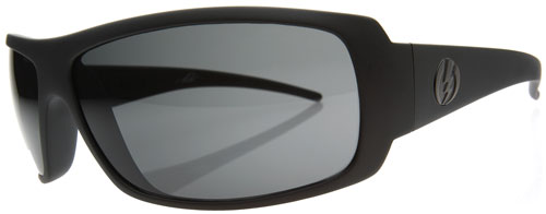 Electric Charge Sunglasses - Black Matte / Grey