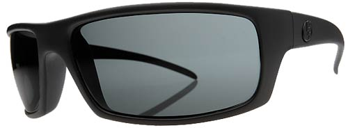 Electric Technician Sunglasses - Matte Black / Grey