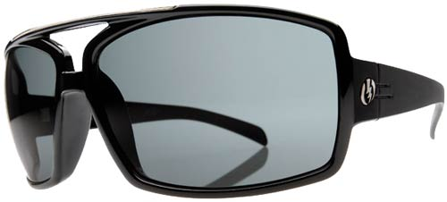 Electric OHM III Sunglasses - Gloss Black / Grey
