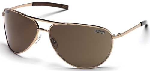 Smith Serpico Sunglasses - Gold / Brown Polarized