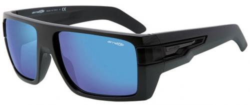 Arnette Heavy Hitter Sunglasses - Matte Black / Blue Mirror