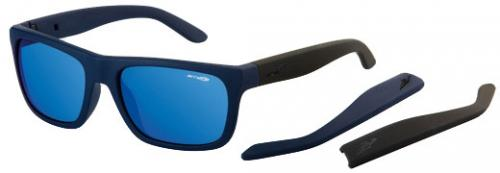Arnette Dropout Sunglasses - Fuzzy Navy / Blue Mirror