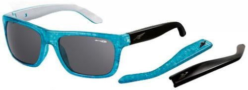 Arnette Dropout Sunglasses - Inked Aqua / Silver / Grey