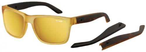 Arnette Witch Doctor Sunglasses - Fuzzy Yellow / Gold Mirror