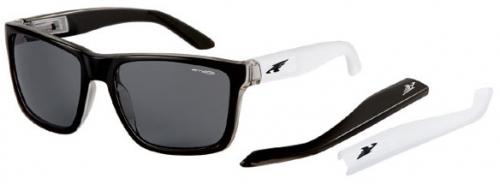 Arnette Witch Doctor Sunglasses - Gloss Clear Black / Grey
