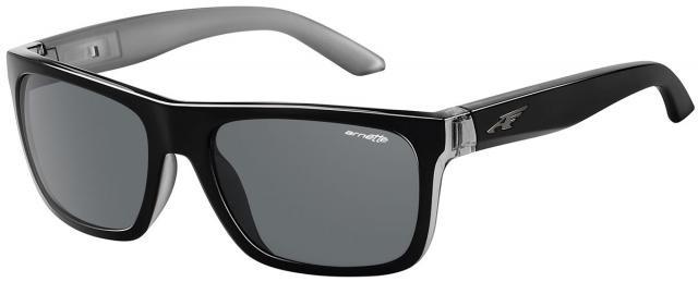 Arnette Dropout Sunglasses - Black / Translucent Grey / Grey
