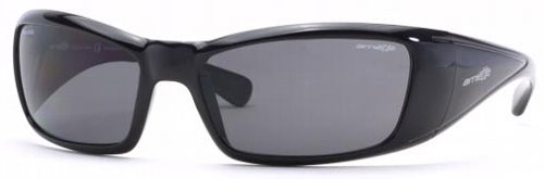 Arnette Rage Sunglasses - Black Gloss / Grey