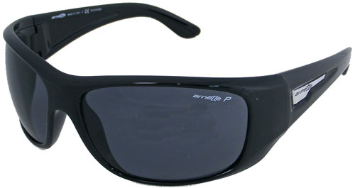 Arnette Heist Sunglasses - Gloss Black / Grey