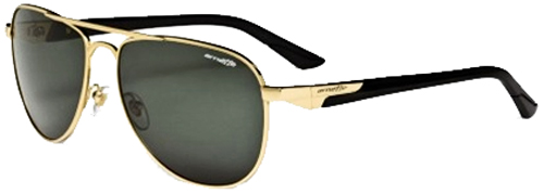 Arnette One Time Sunglasses - Gold / Grey Green