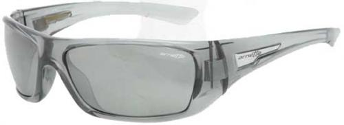 Arnette Stickup Sunglasses - Transparent Grey / Silver Mirror
