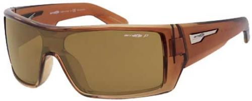 Arnette High Beam Sunglasses - Gradient Brown / Brown Polarized