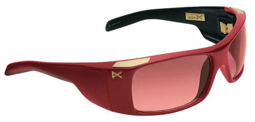 Anon Indee Sunglasses - Red & Black / Rose