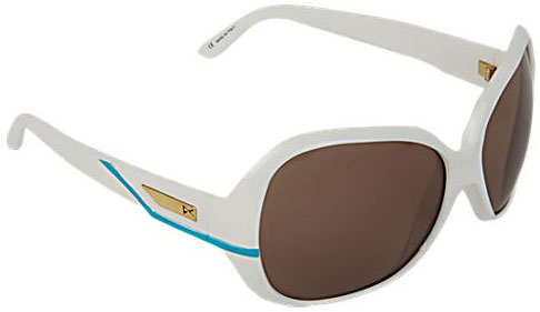 Anon Paparazzi Sunglasses - White & Blue / Brown