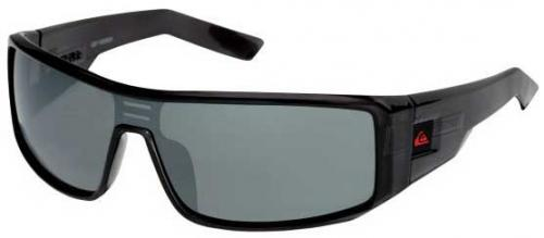 Quiksilver Carver Sunglasses - Crystal Black / Grey Chrome