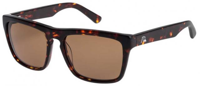 Quiksilver The Ferris M.O. Sunglasses - Shiny Brown Havana / Brown