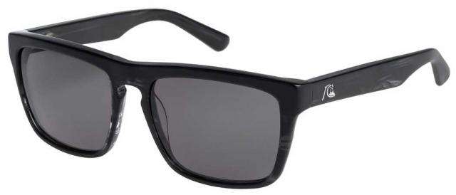 Quiksilver The Ferris M.O. Sunglasses - Shiny Black Havana / Grey