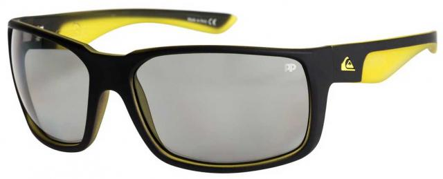 Quiksilver Chaser Sunglasses - Matte Black / Yellow / Photochromic
