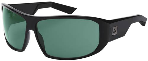Quiksilver Pulse Sunglasses - Shiny Black / Ocean Polarized