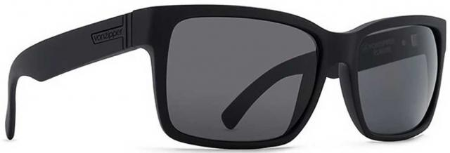 Von Zipper Elmore Sunglasses - Black Satin / Grey