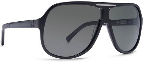 Von Zipper Hoss Sunglasses - Black Satin / Grey