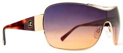 Von Zipper Saffron Sunglasses - Gold Tortoise / Gradient