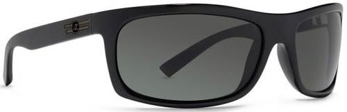 Von Zipper Con Man Sunglasses - Black Satin / Grey