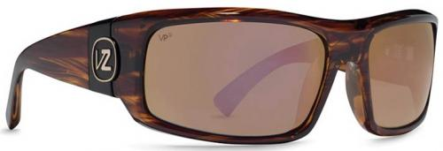 Von Zipper Kickstand Sunglasses - Tortoise / Vermilion Glass Polarized