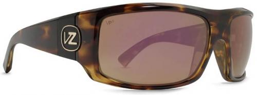 Von Zipper Clutch Sunglasses - Tortoise / Vermilion Glass Polarized