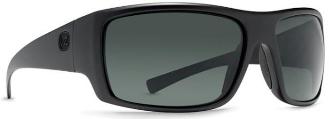 Von Zipper Suplex Sunglasses - Black Satin / Grey