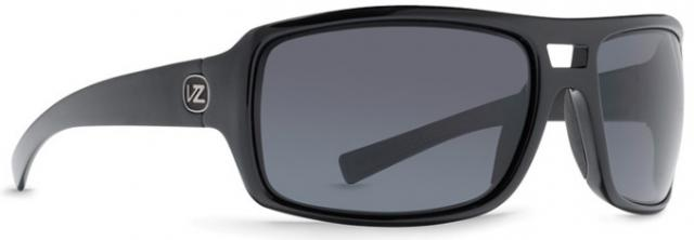 Von Zipper Hammerlock Sunglasses - Black Gloss / Grey