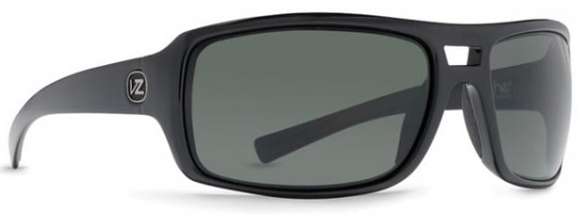 Von Zipper Hammerlock Sunglasses - Black Satin / Grey