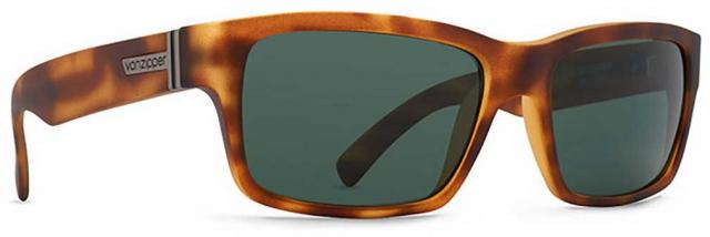 Von Zipper Fulton Sunglasses - Tortoise Satin / Grey