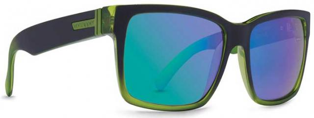 Von Zipper Elmore Sunglasses - Black / Lime