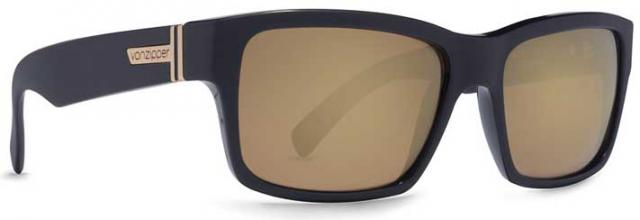 Von Zipper Fulton Sunglasses - Black / Gold Chrome