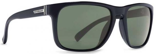 Von Zipper Lomax Sunglasses - Black Gloss / Vintage Grey