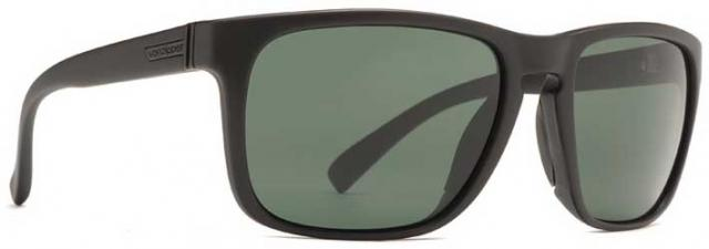 Von Zipper Lomax Sunglasses - Black Satin / Vintage Grey