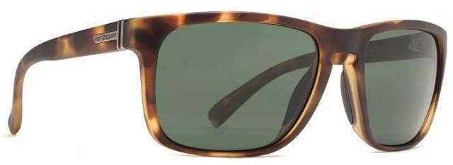 Von Zipper Lomax Sunglasses - Tortoise Satin / Vintage Grey