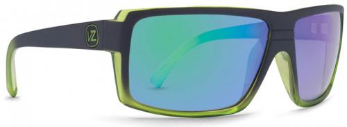 Von Zipper Snark Sunglasses - Black Green Glacier / Quasar Chrome