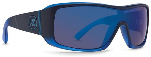 Von Zipper Comsat Sunglasses - Black Blue Boilerplate / Astro Glo