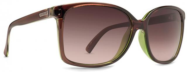 Von Zipper Castaway Sunglasses - Brown Lime Duo / Gradient