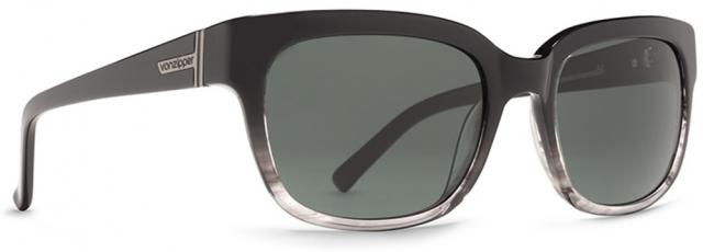Von Zipper Commonwealth Sunglasses - Black Fade / Green Grey