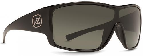 Von Zipper Herq Sunglasses - Black Gloss / Grey