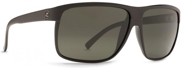 Von Zipper Sidepipe Sunglasses - Black Gloss / Grey