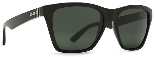 Von Zipper Booker Sunglasses - Black Gloss / Vintage Grey