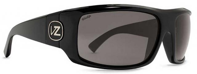 Von Zipper Clutch Sunglasses - Black Gloss / Wildlife Polarized