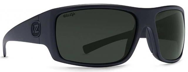 5a9552f1680 Von Zipper Suplex Sunglasses - Black Satin   Wildlife Vintage Grey Polar