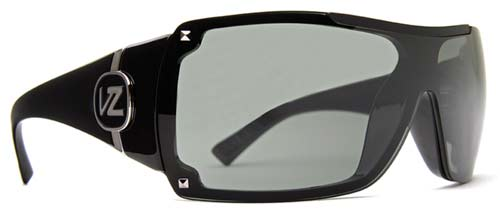 Von Zipper Gamma Sunglasses - Black Gloss / Grey