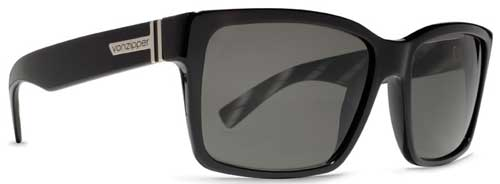 Von Zipper Elmore Sunglasses - Black / Grey