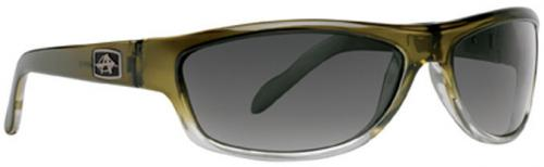 Anarchy Bedlam Sunglasses - Olive Fade / Smoke Polarized